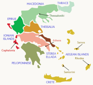 Greece Wine Regions