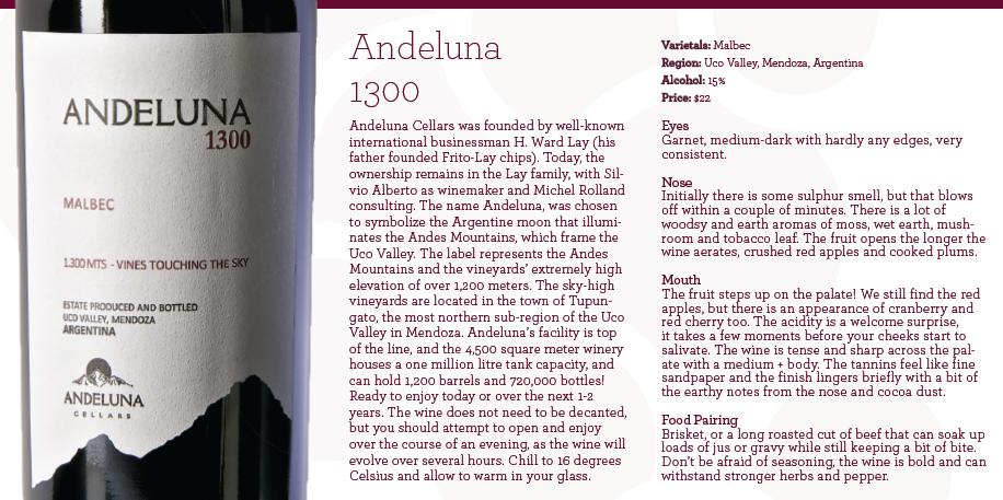 andeluna card